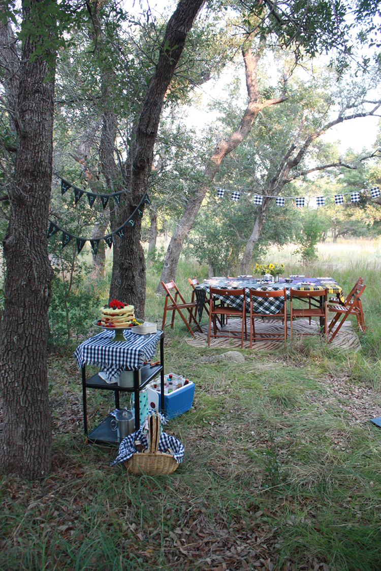 Glamping Outdoor Dinner-One Little Minute Blog-12