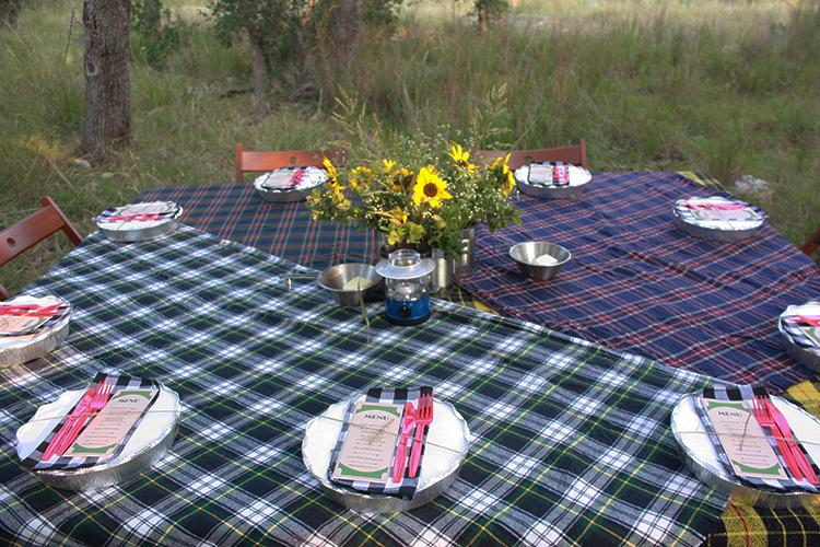 Glamping Outdoor Dinner-One Little Minute Blog-16