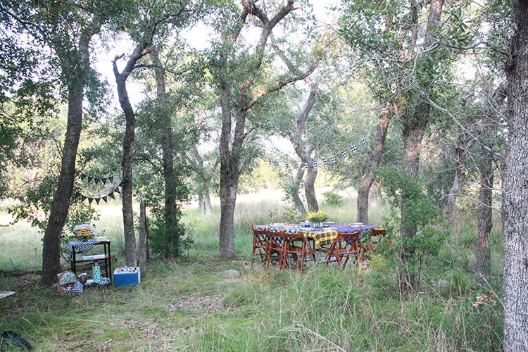 Glamping Outdoor Dinner-One Little Minute Blog-18
