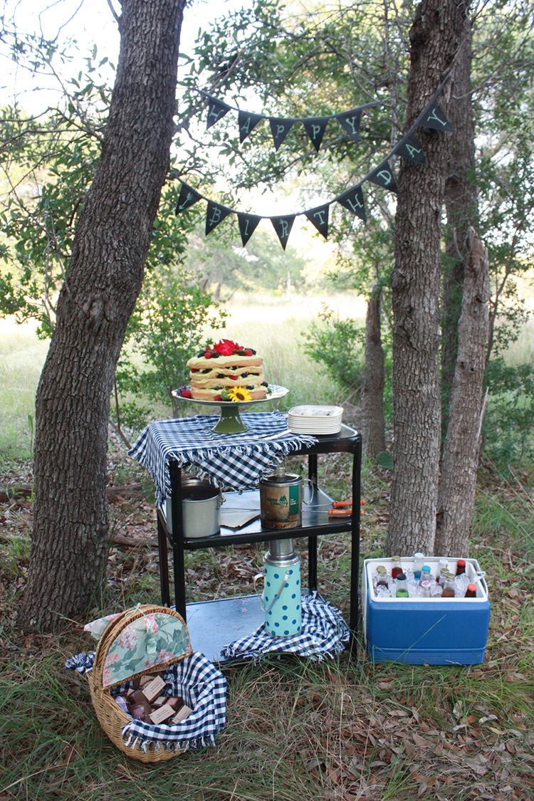Glamping Outdoor Dinner-One Little Minute Blog-5