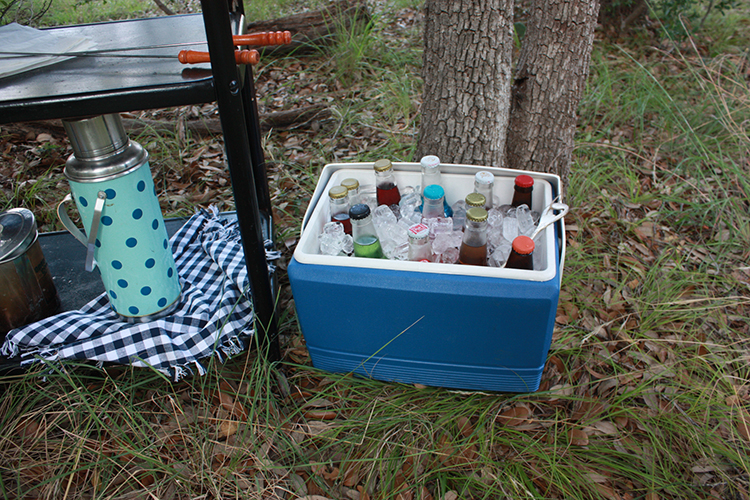 Glamping Outdoor Dinner-One Little Minute Blog-6