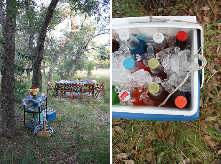 Glamping Outdoor Dinner-One Little Minute Blog-7