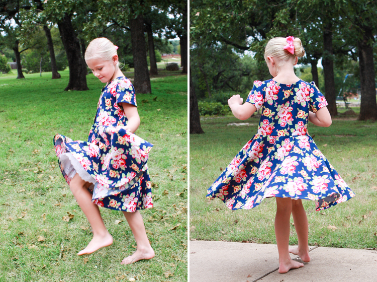 Little League Dress PDF Pattern-One Little Minute Blog