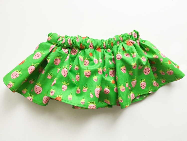 Gathered Bloomer Baby Skirt Tutorial//One Pattern Four Ways - Live ...