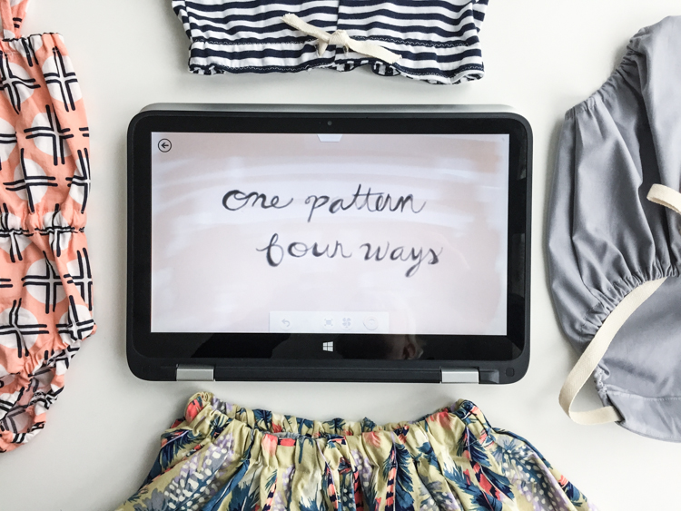 One Pattern, Four Ways- One Little Minute Blog-20