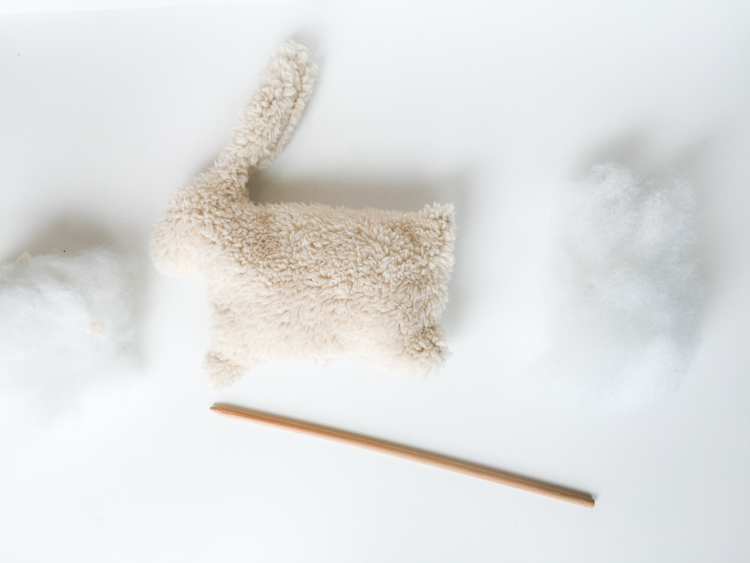 Soft Bunny Rattle DIY- One Little Minute Blog-6