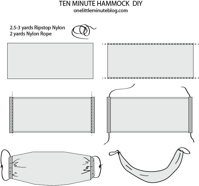 Ten Minute Hammock DIY
