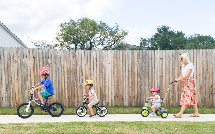 3 Tips For Outside Family Fun at Home-One Little Minute Blog-1