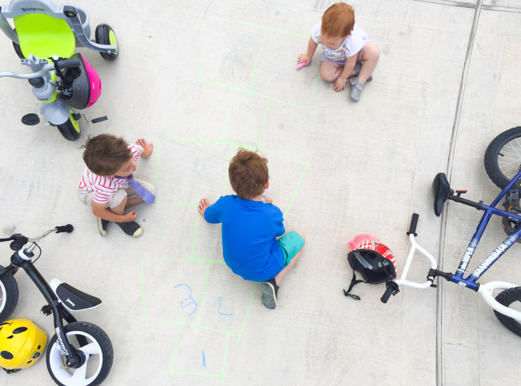 3 Tips For Outside Family Fun at Home-One Little Minute Blog-4
