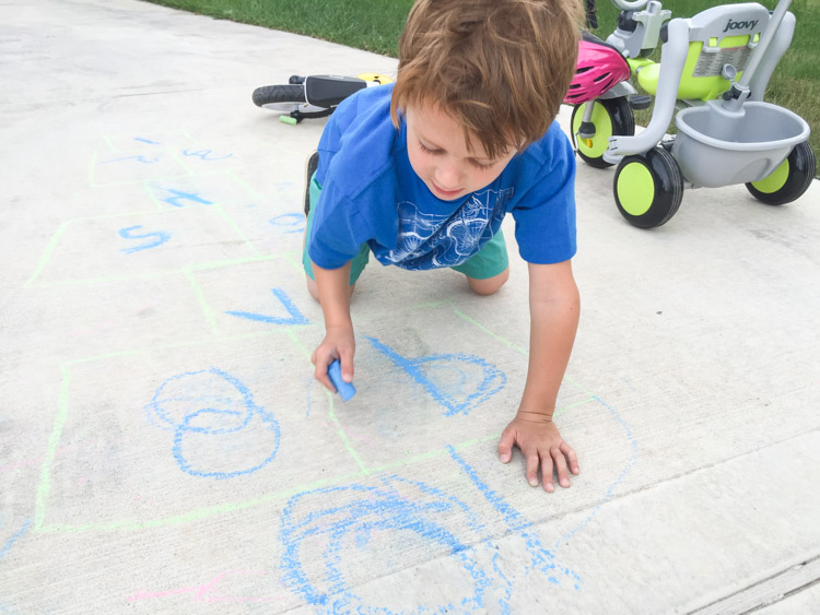 3 Tips For Outside Family Fun at Home-One Little Minute Blog-5