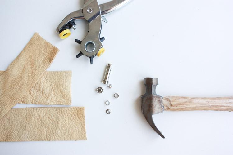 Leather Blanket Strap DIY-One Little Minute Blog-11