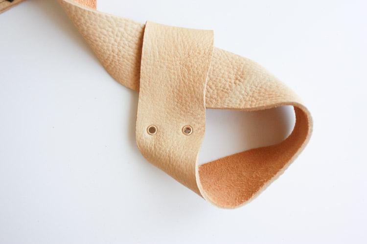 Leather Blanket Strap DIY-One Little Minute Blog-16