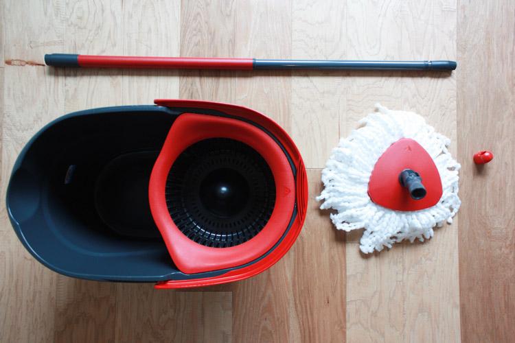 how to clean hardwood floors easy