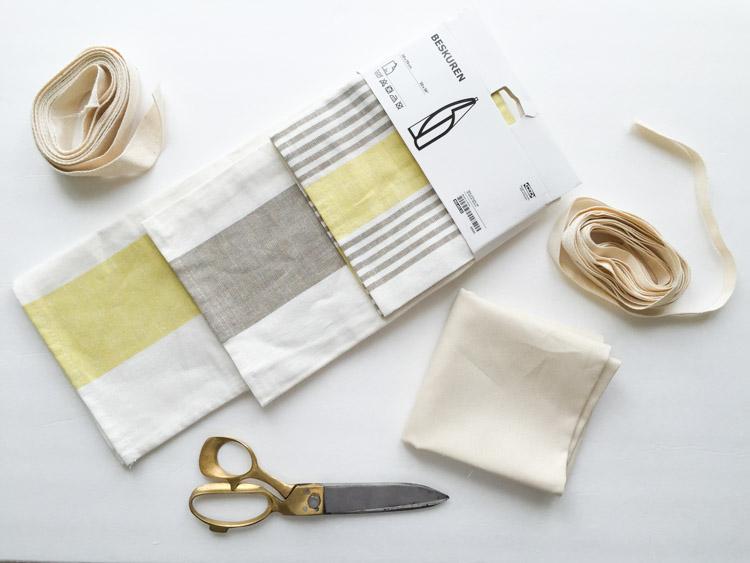 Tea Towel Apron-One Little Minute Blog-1