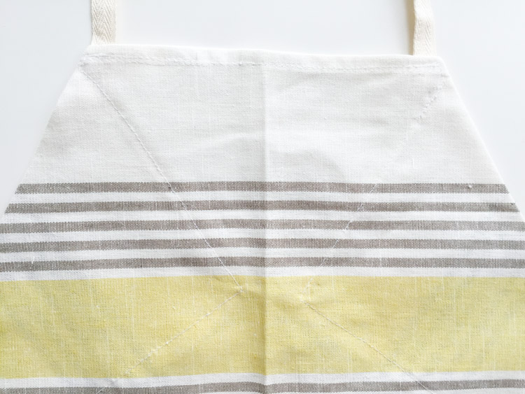 Tea Towel Apron-One Little Minute Blog-10
