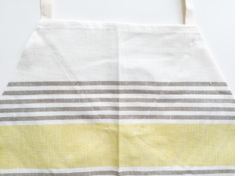 Tea Towel Apron-One Little Minute Blog-10