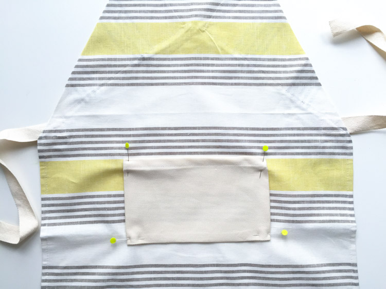 Tea Towel Apron-One Little Minute Blog-12