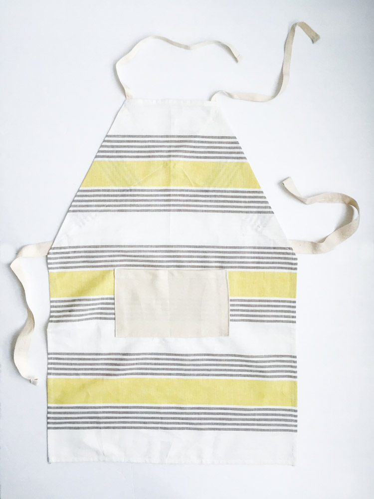 Tea Towel Apron-One Little Minute Blog-20