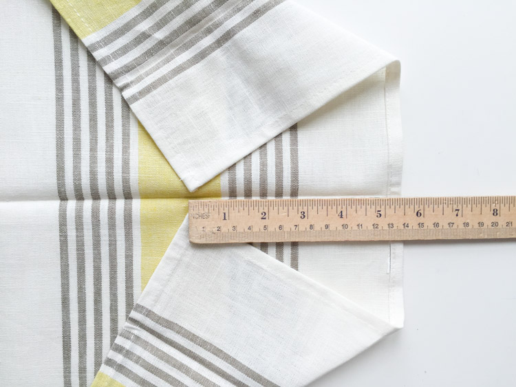Tea Towel Apron-One Little Minute Blog-3