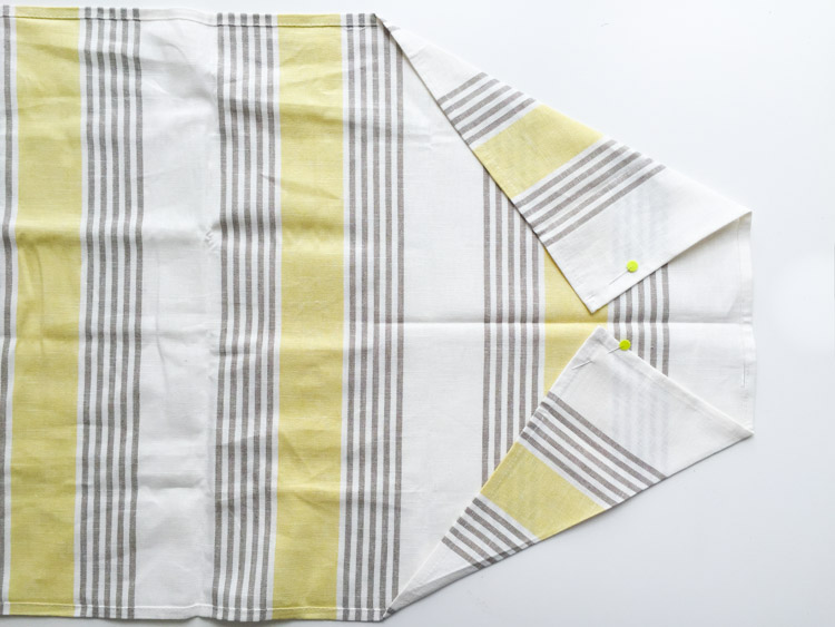 Tea Towel Apron-One Little Minute Blog-4