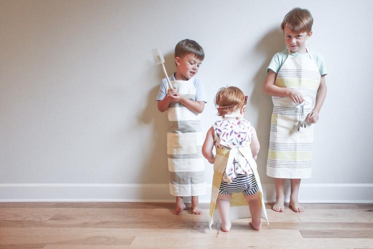 Tea Towel Apron-One Little Minute Blog-40