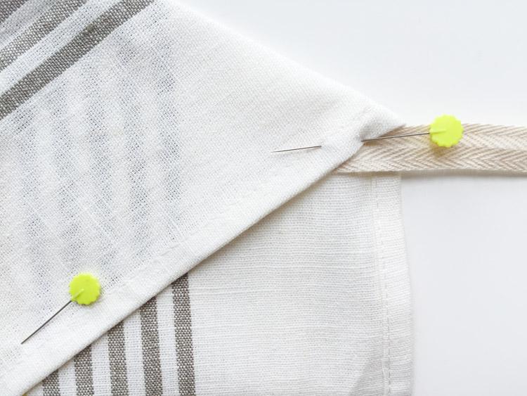 Tea Towel Apron-One Little Minute Blog-5