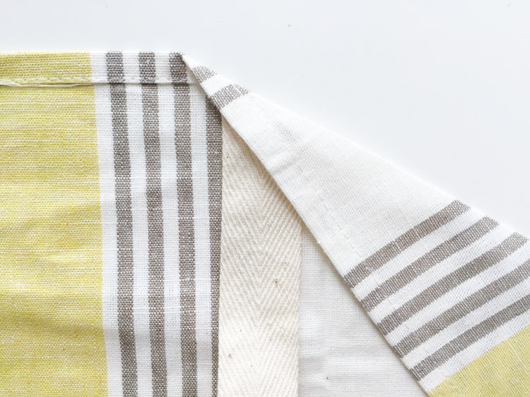 Tea Towel Apron-One Little Minute Blog-6