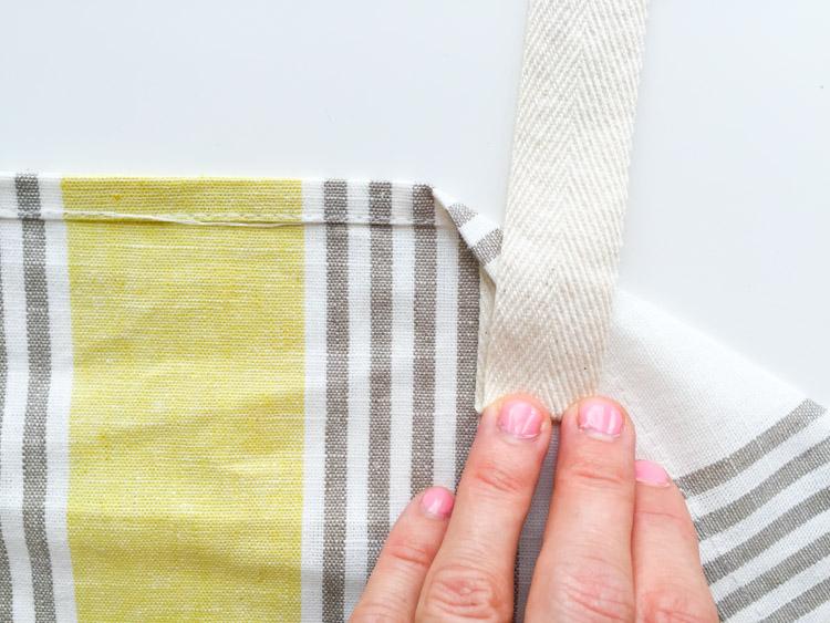 Tea Towel Apron-One Little Minute Blog-7