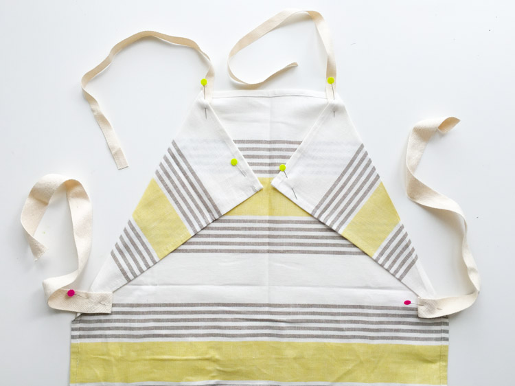 Tea Towel Apron-One Little Minute Blog-8
