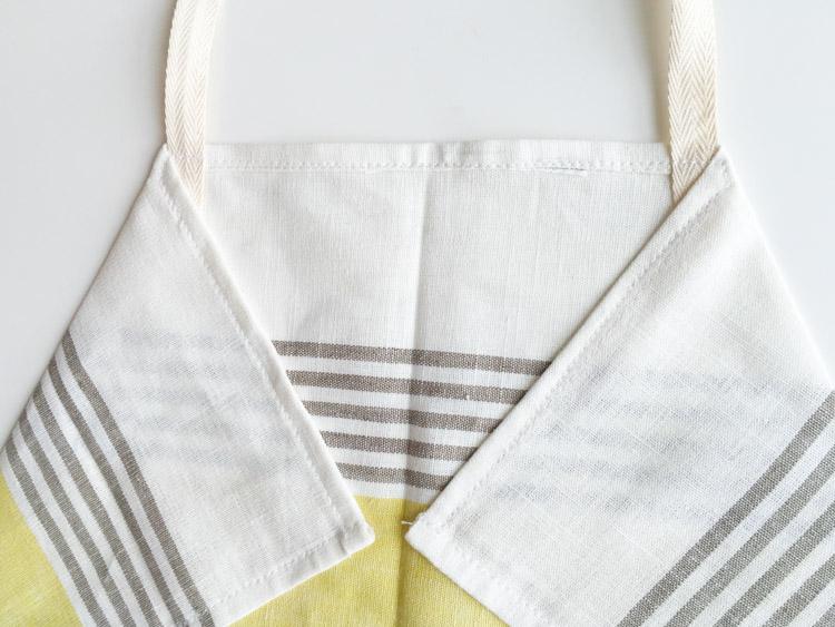 Tea Towel Apron-One Little Minute Blog-9