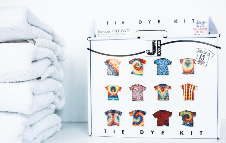 Tie Dye American Flag DIY-1