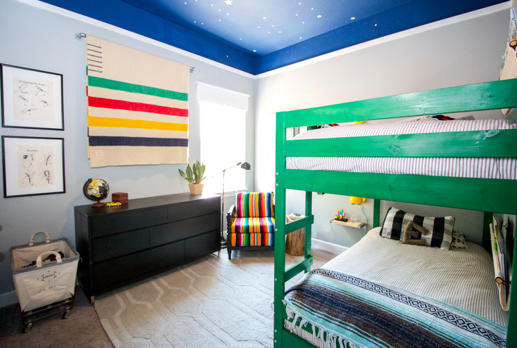 Outdoors Inspired Boys Room- One Little Minute Blog-1