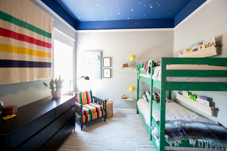 Outdoors Inspired Boys Room- One Little Minute Blog-3