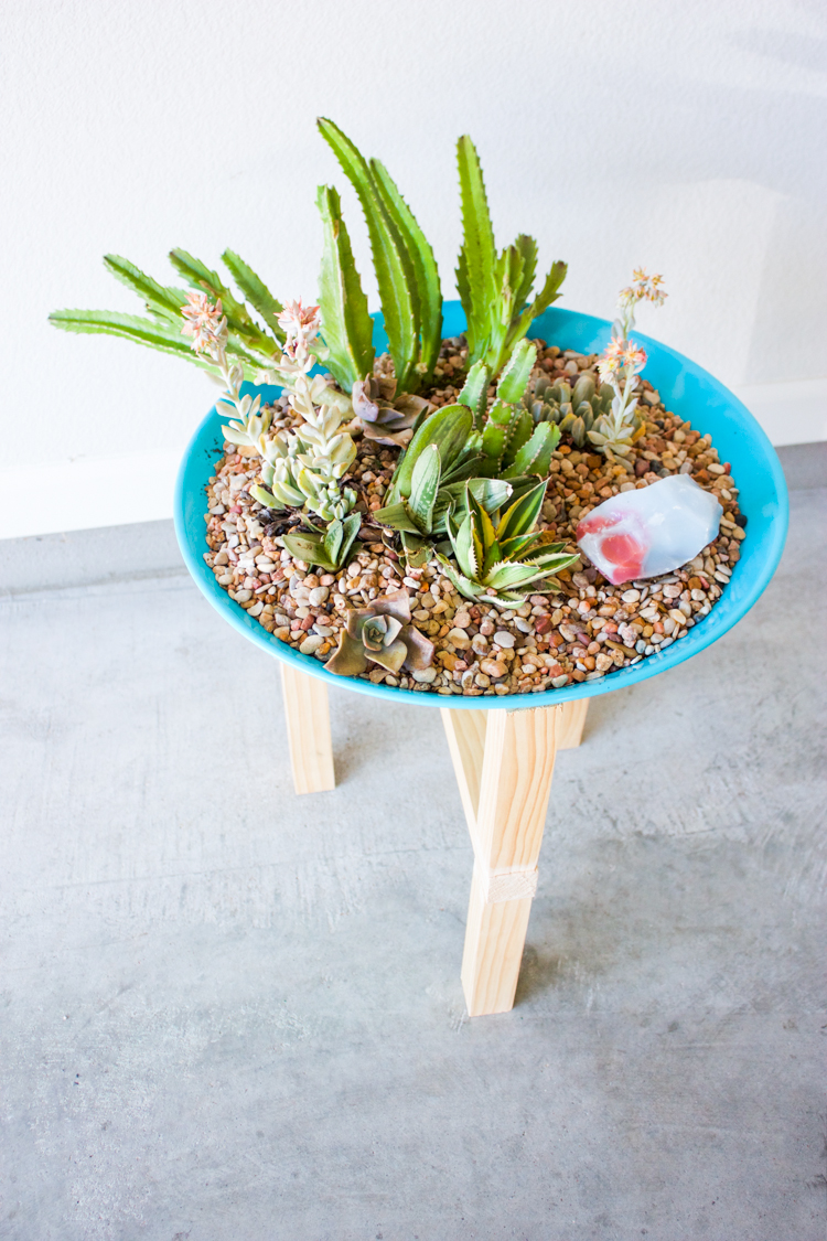 DIY Wooden Plant Stand-18