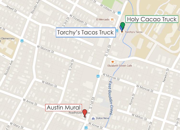 Around Austin Map 1