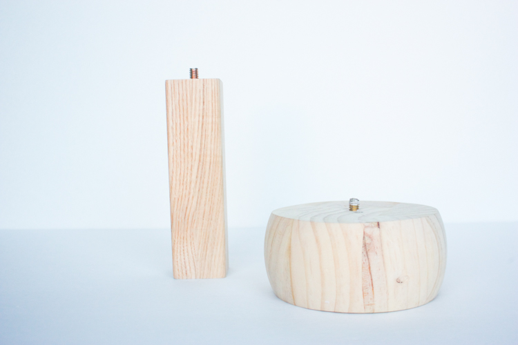 DIY Wood Block Candlesticks-11