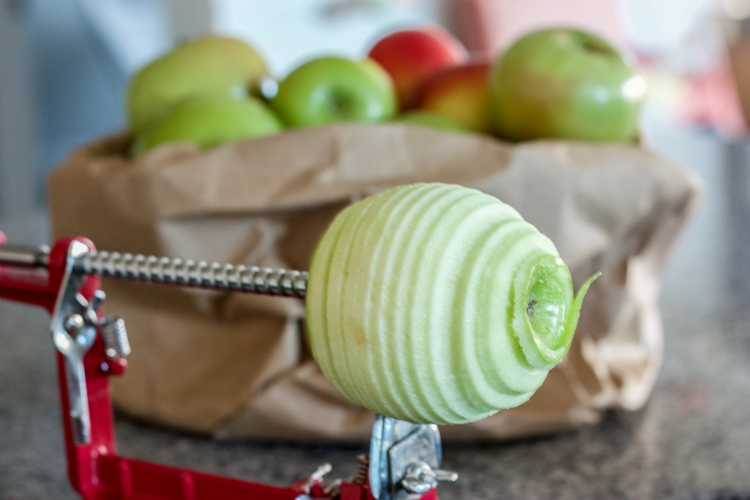 Easy As Caramel Apple Pie-One Little Minute Blog-1