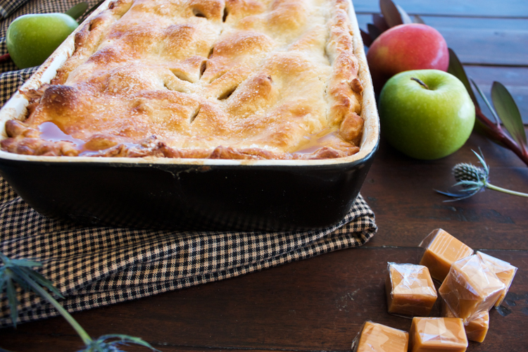 Easy As Caramel Apple Pie-One Little Minute Blog-11