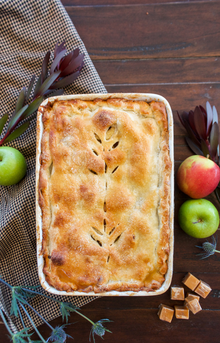 Easy As Caramel Apple Pie-One Little Minute Blog-13