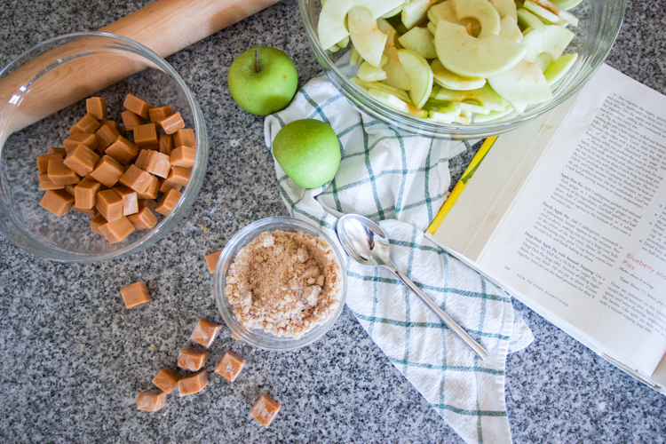 Easy As Caramel Apple Pie-One Little Minute Blog-8
