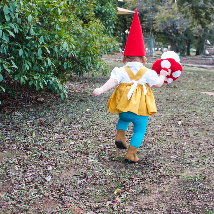 Garden Gnome Costume-One Little Minute Blog 10