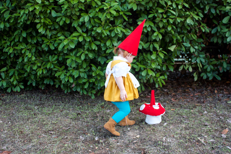 Garden Gnome Costume-One Little Minute Blog 6