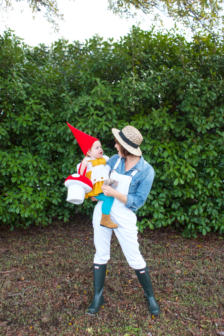 Garden Gnome Costume-One Little Minute Blog 7