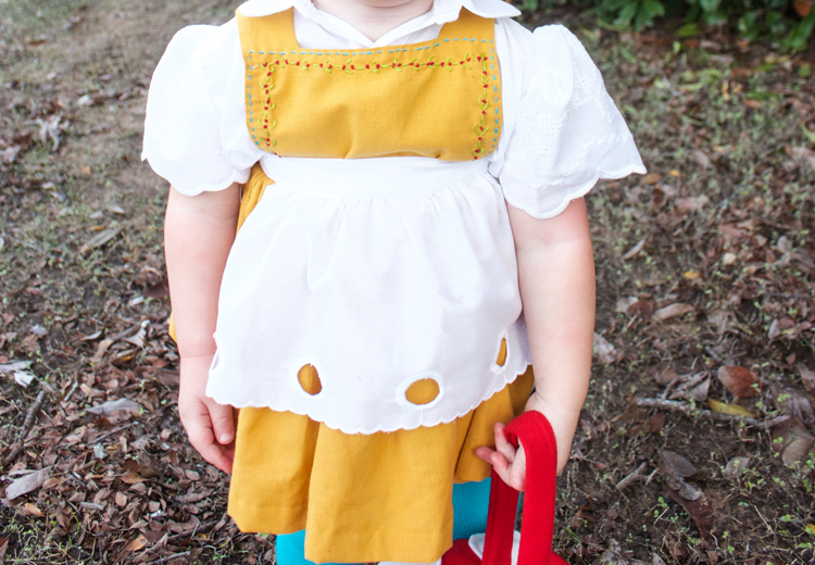 Garden Gnome Costume-One Little Minute Blog 9