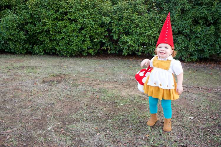 Garden Gnome Costume-One Little Minute Blog