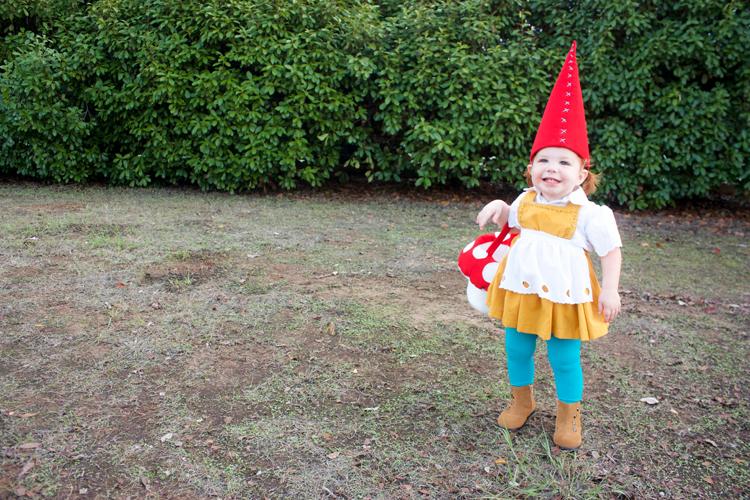 Garden Gnome Costume-One Little Minute Blog
