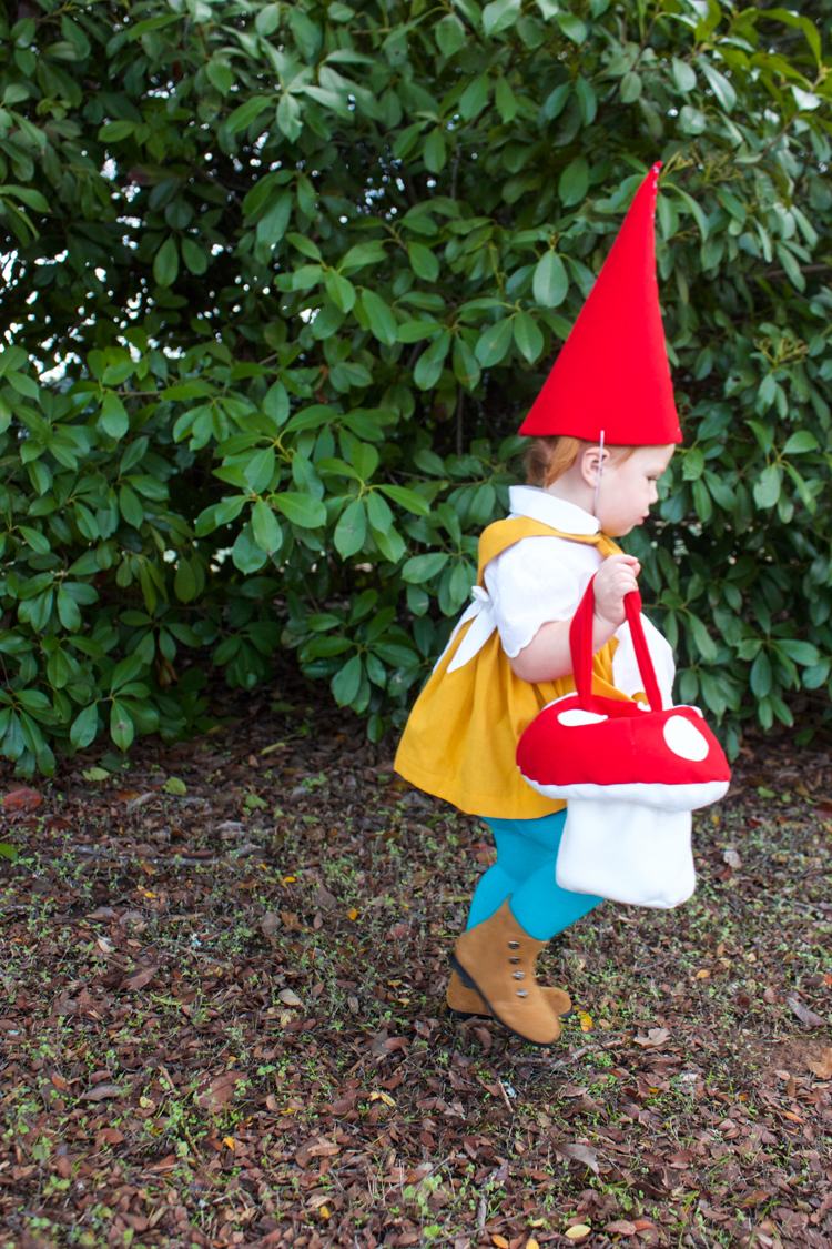 Garden Gnome Costume-One Little Minute Blog1