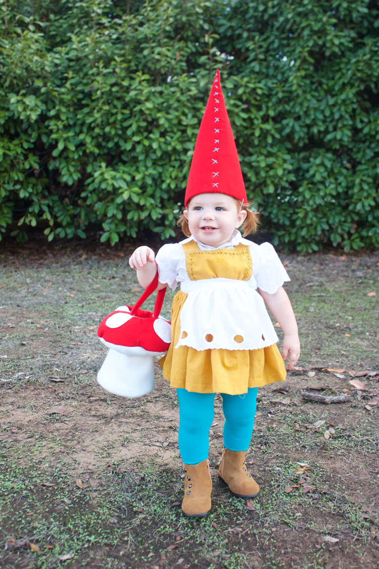 Garden Gnome Costume-One Little Minute Blog2