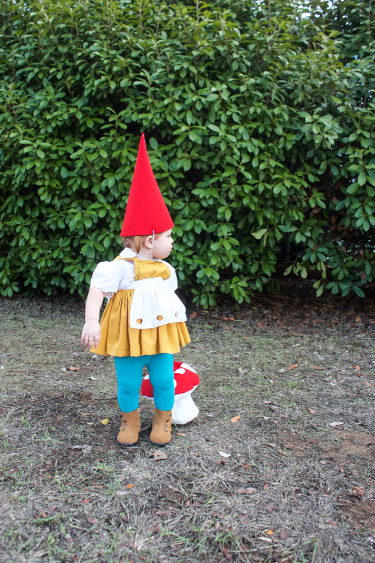 Garden Gnome Costume-One Little Minute Blog4