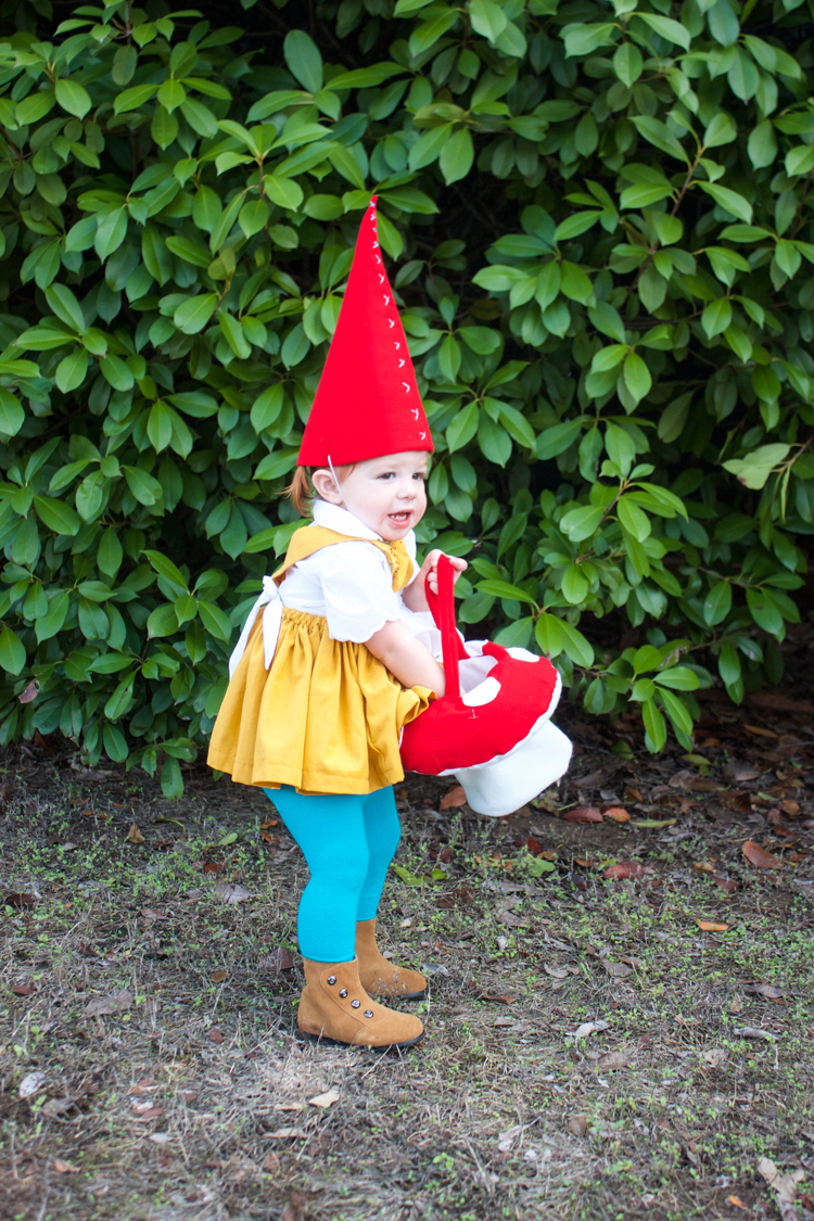 DIY Garden Gnome Costume